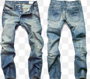 Mens Pant Transparent Image - Jeans Fashion Denim Trousers Slim-fit Pants PNG