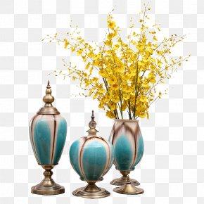 Living Room Furniture, Vases Decoration - Vase Furniture PNG