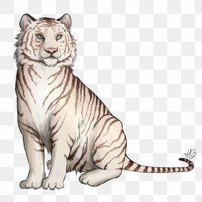 Lion - Whiskers Lion White Tiger Bengal Tiger Cat PNG