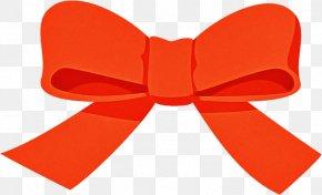 Bow Tie Orange - Bow Tie PNG
