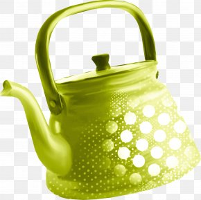 Green Kettle - Kettle Teapot Kitchen Stove PNG