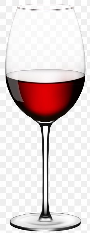 Wine Glass Vector Clipart - Red Wine Champagne Wine Glass PNG