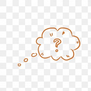Bubble Of Cloud Thinking - Thought Bubble Speech Balloon PNG