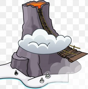 Volcano - Club Penguin Entertainment Inc Wikia Volcano Clip Art PNG