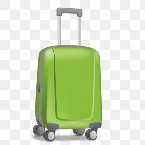 Vector Suitcase - Hand Luggage Suitcase Baggage Travel PNG