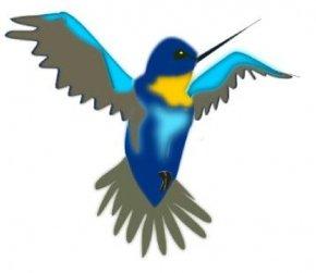 Free Hummingbird Clipart - Hummingbird Drawing Cartoon Clip Art PNG