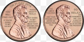 Coin - Lincoln Memorial Penny Lincoln Cent Coin Obverse And Reverse PNG