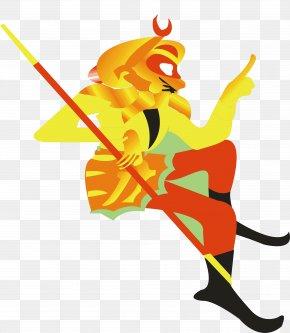 Cartoon Sun Wukong - Sun Wukong Cartoon PNG