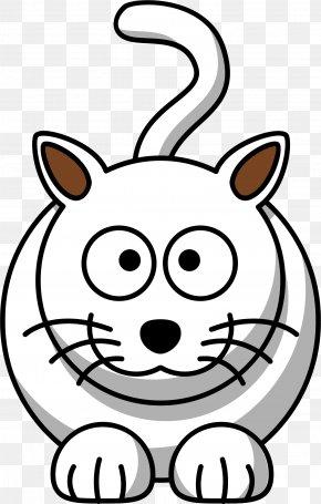 White Cat - Cat Kitten Drawing Clip Art PNG