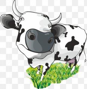 Cartoon Cow - Cattle Milk Cow Cartoon Clip Art PNG