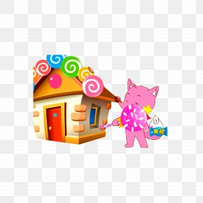 Candy House Game Interface - Game Button Game Icon Video Game PNG