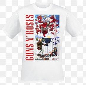 T-shirt - T-shirt Guns N' Roses Hoodie Merchandising PNG