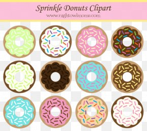 Donut Cartoon - Donuts Sprinkles Frosting & Icing National Doughnut Day Clip Art PNG