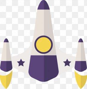 Creative Design Icon Vector Space Plane - Airplane Rocket Euclidean Vector PNG