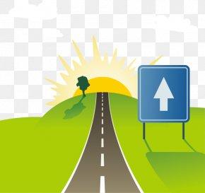 Vector Road - Road Euclidean Vector Highway Drawing PNG