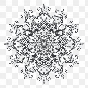 Vector Graphics Mandala Tattoo Mehndi Henna PNG