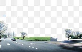 Asphalt Road - Road Surface Asphalt Paver PNG