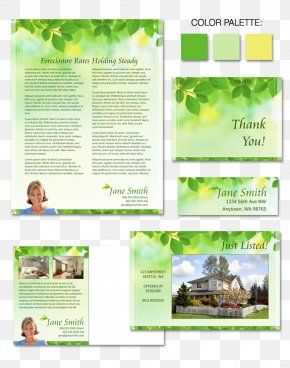 Spring Real Estate Posters - Advertising Tree Herbalism Brochure Font PNG