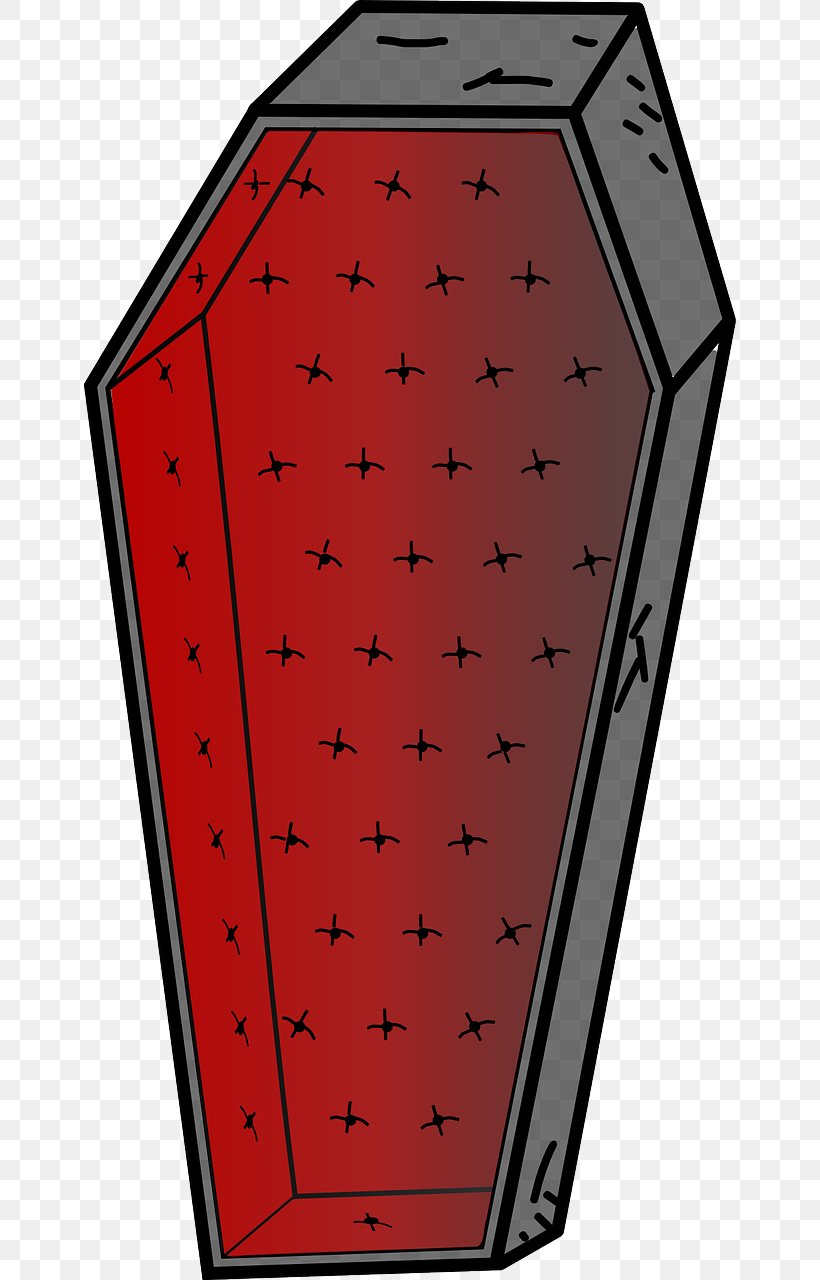 Coffin Download Clip Art, PNG, 652x1280px, Coffin, Area, Funeral, Rectangle, Red Download Free