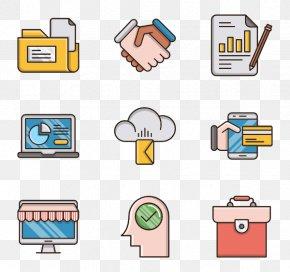 Financial Business - Vector Graphics Clip Art Illustration Image Flat Design PNG