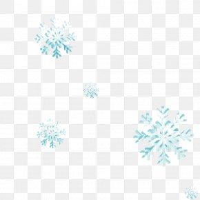 Blue Snowflake Pattern - Blue Web Page Clip Art PNG