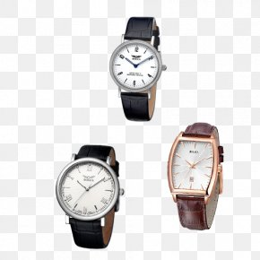 Combination Leather Strap Watches - Watch Strap Watch Strap Leather PNG