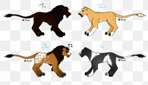 Lion - Lion Dog Big Cat Mammal PNG