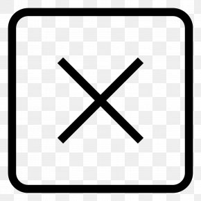 Exit - Window Symbol User Interface PNG