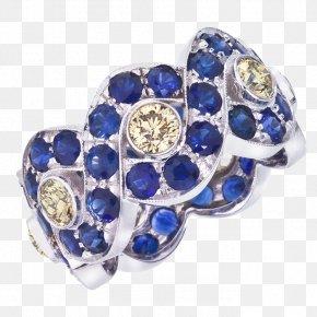 Sapphire - Sapphire Earring Jewellery Diamond PNG