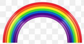 Large Rainbow Transparent Clipart - Rainbow Clip Art PNG