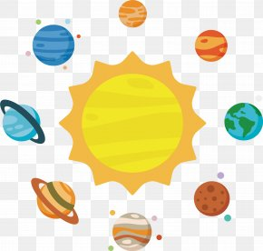 Astronomy Solar System - Solar System Planet Clip Art PNG
