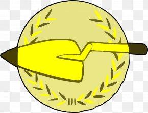 Yellow Shovel - Jacks Garden Pre-school Gardening Garden Tool PNG