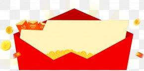Red Envelope Pattern - Red Envelope Real Property Computer File PNG