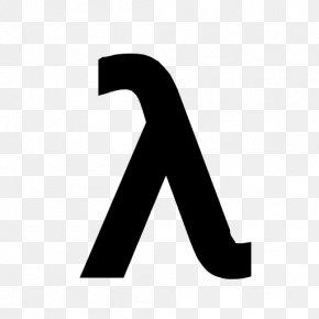 Clolorful Letters - Lambda Symbol Greek Alphabet Letter PNG