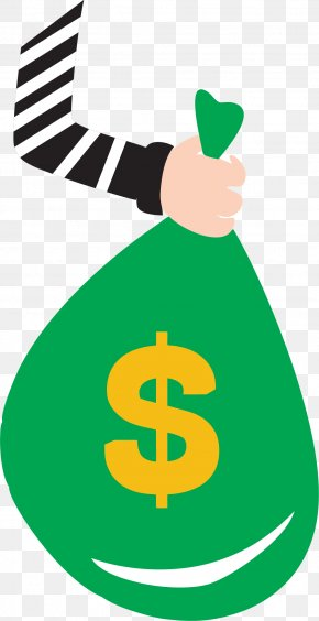 A Bag Of Money - Theft Clip Art PNG
