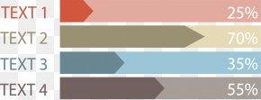 Arrow Chart Data Classification - Data Chart PNG