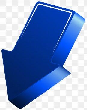 Blue Arrow Transparent Clip Art Image - Image File Formats Lossless Compression PNG