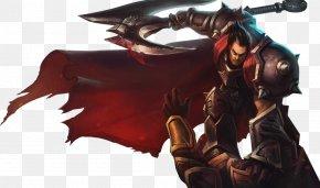 Darius Image - League Of Legends Display Resolution Wallpaper PNG