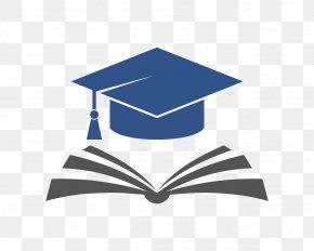 Electric Blue Academic Dress - Logo Rare Book School Graduation Ceremony Rare Book School PNG