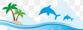 Summer City Banner Summer School - Clip Art Illustration Suken Dolphin Learning PNG