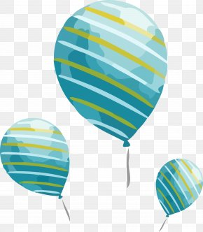 Hot Air Balloon Balloon - New Year Party Party Time PNG