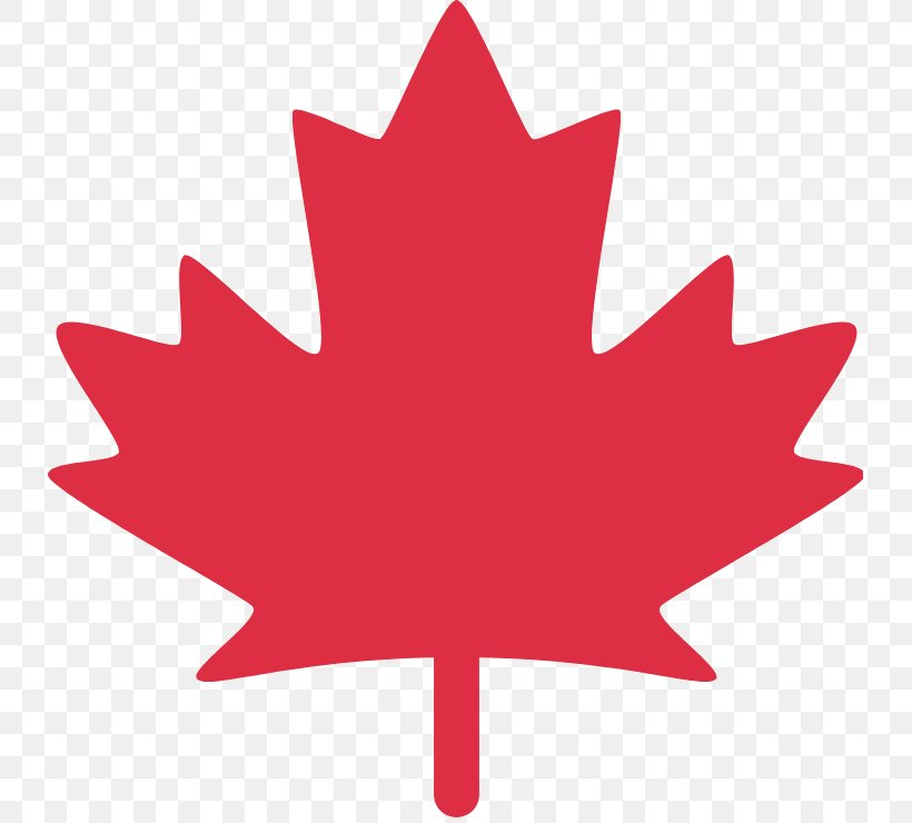 Canada Maple Leaf Png 733x740px Emoji Bumper Sticker