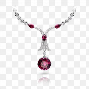 Jewellery - Jewellery Necklace Gemstone Charms & Pendants Ruby PNG