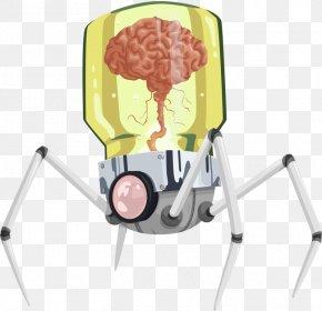 Spider Robot - Robot Cartoon Clip Art PNG