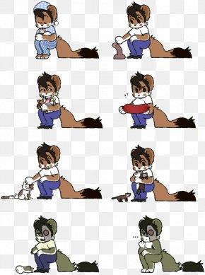 A Lot Of - Comics Mammal Cartoon Human Behavior Clip Art PNG