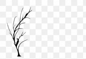 Twig Cliparts - Tree Silhouette Drawing Clip Art PNG