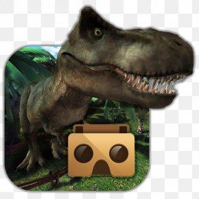 Google Cardboard Jurassic Virtual Reality (VR) YouTubeCardboard - Jurassic VR PNG