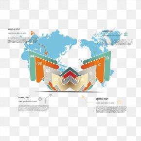 Arrow Map - World Map Silo Arrow PNG