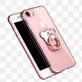 Electroplated Pink Phone Case - IPhone 7 Plus IPhone 6s Plus IPhone 8 Plus IPhone 5s Telephone PNG