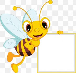 Bee - Western Honey Bee Beehive Clip Art PNG